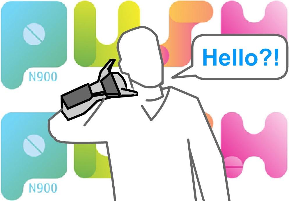 N900 Cyber Kanny - Telephone Gesture